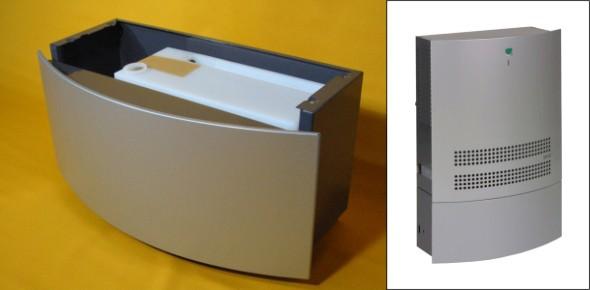 Dantherm Wasserbehälter für CDF 10 - silbergrau
