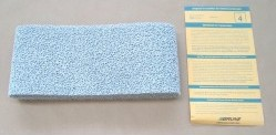 Brune Schaumstoff-Befeuchtermattenset für B 110, 3-er Pack