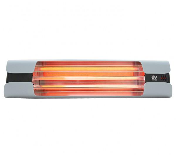 Infrarotheizstrahler Thermologika Design lichtgrau
