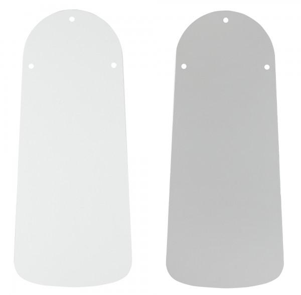 Austauschflügelsatz Lack weiß/Lichtgrau 75