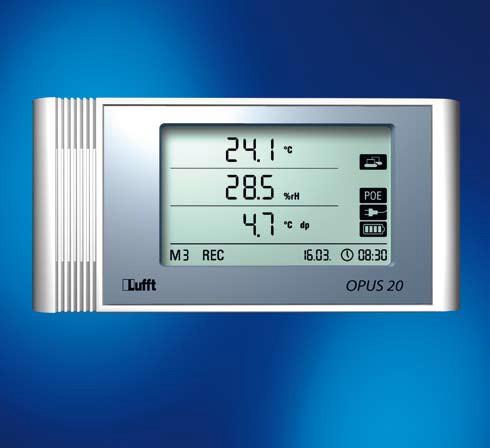 Lufft OPUS20 THI Temperatur und rel. Feuchte