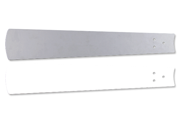 Flügelsatz Weiß/Lichtgrau 152
