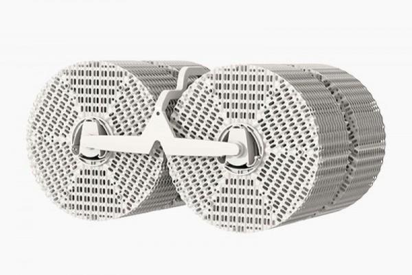 VentWave™ 3D-Plattenstapel mit Träger für LW 45 Comfort Plus