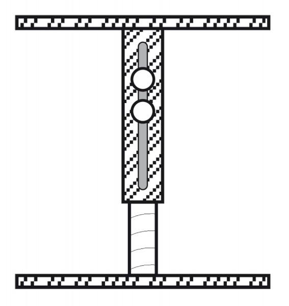 Befestigungsstutzen SST65-120