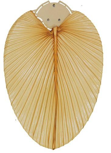 Natur-Flügelsatz 132 Palme natur