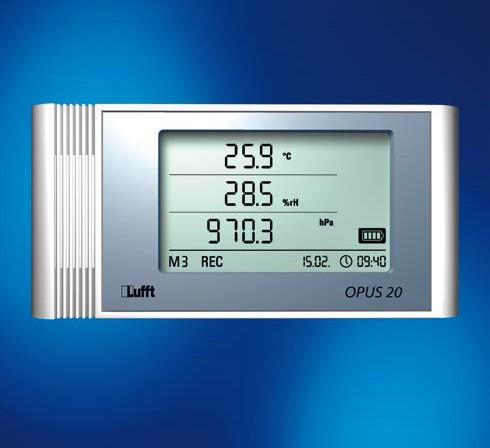Lufft OPUS20 THIP Temperatur, rel. Feuchte, Luftdruck