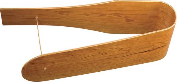 Flügelsatz 152 Kirschbaum gebogen