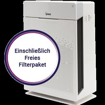 WINIX Luftreiniger ZERO Pro + 1 zusätzliches Filterpaket