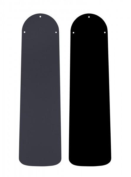 Austauschflügelsatz Lack schwarz/graphit 132