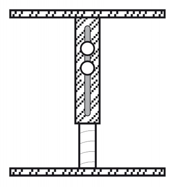 Befestigungsstutzen SST35-65