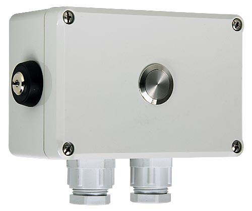 VZ 400 IP54 m. Gehäuse u. Taster