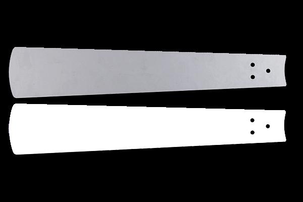 Flügelsatz Weiß/Lichtgrau 180