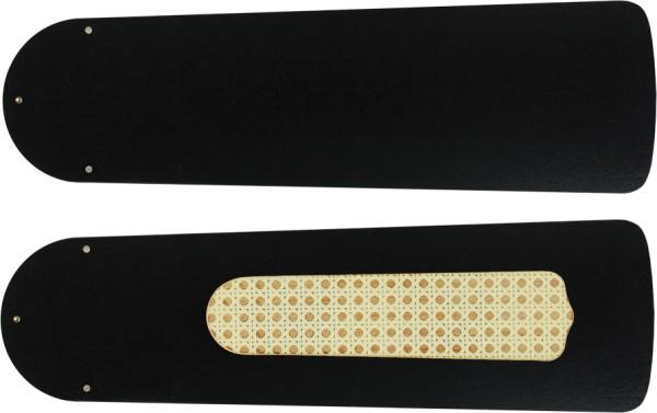 Austauschflügelsatz Lack schwarz 132