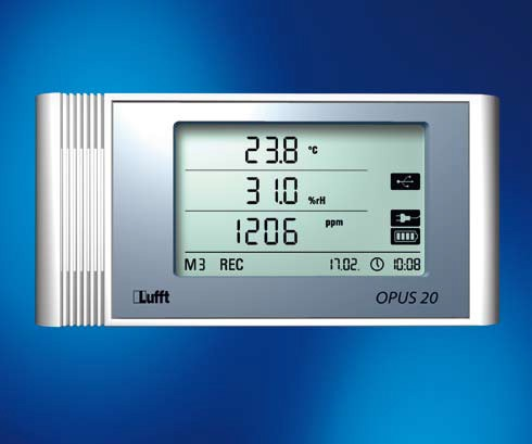 Lufft OPUS20 TCO Temperatur, rel. Feuchte, CO2